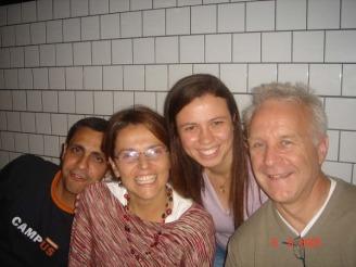 Alexandre, Ana, Eu e Les